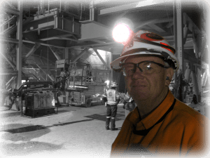 Greg carrying out workplace inspection for WHS Safety and Training