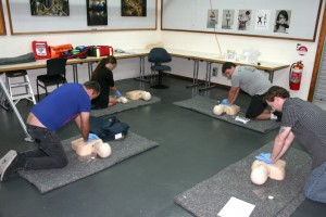 First Aid training room 2
