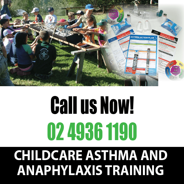 asthma anaphylaxis training