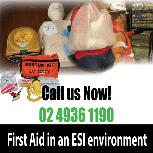first aid in an ESI environment